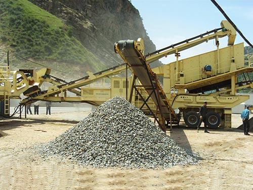 Planta Móvil Trituradora De Piedra En Tayikistán
