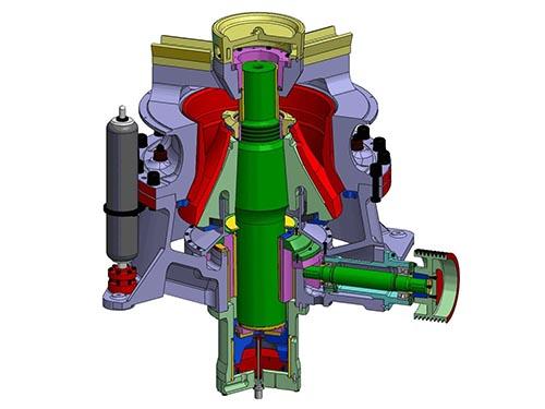 Funcionamiento De Trituradora Cónica Hidráulica