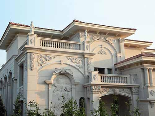 Fachada Decorativa De Granito