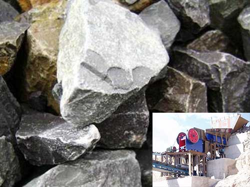 Máquina Trituradora De Piedra Caliza