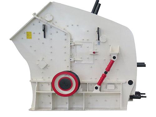 Estructura Compacta De Máquina Trituradora De Impacto