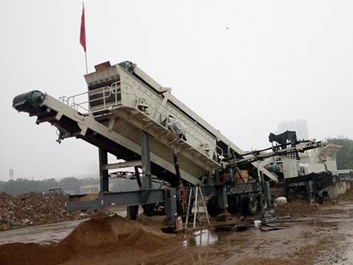 AIMIX Máquina Trituradora Móvil De Escombros De Diferentes Usos