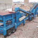 Máquina Trituradora De Escombros