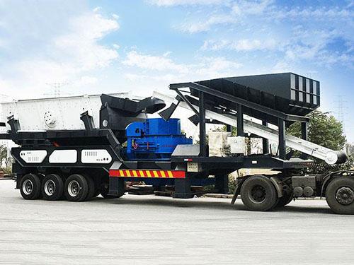 Máquina Trituradora De Impacto Vertical Móvil