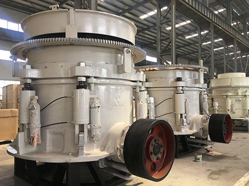 Trituradoras Industriales De Cono En La Fábrica
